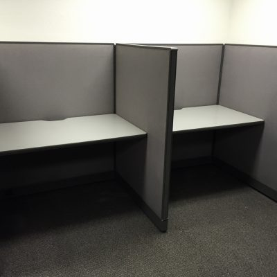 Haworth call center workstation 2